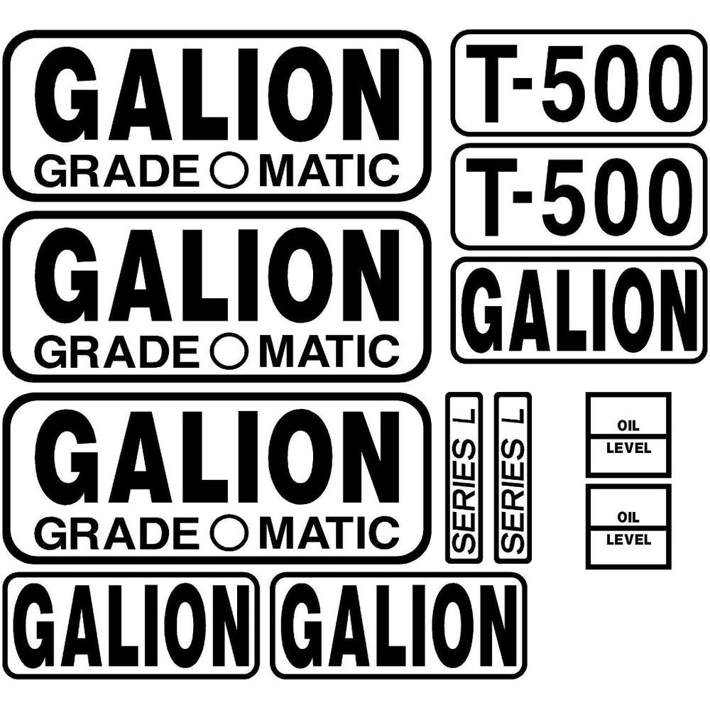 MAE30-0236 Decal Set