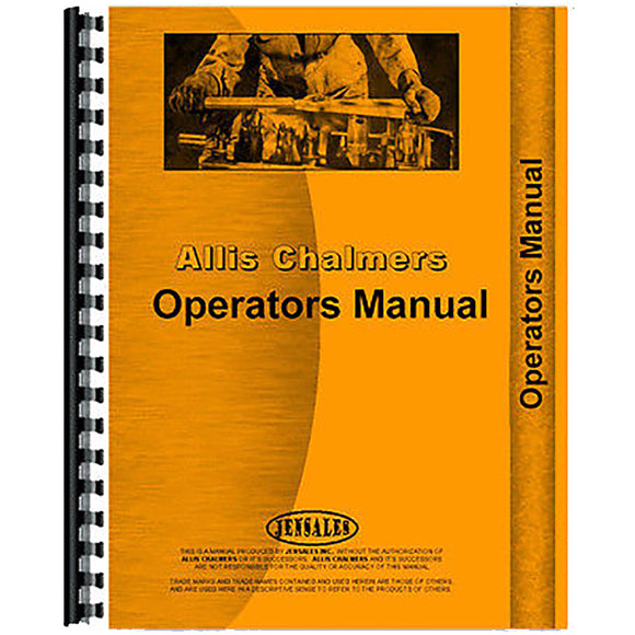 RAP65345 Operators Manual