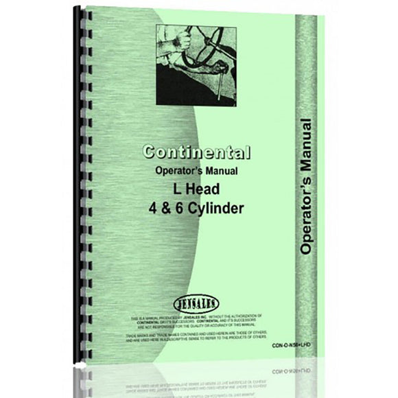 RAP68097 Operators Manual - Reliable Aftermarket Parts, Inc