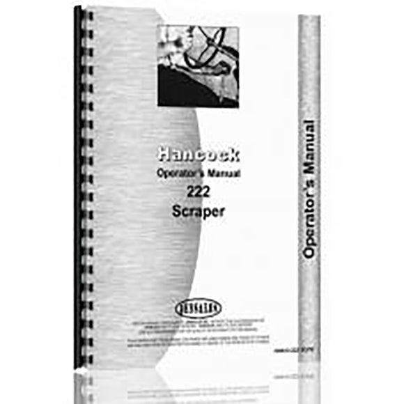 RAP72538 Operators Manual