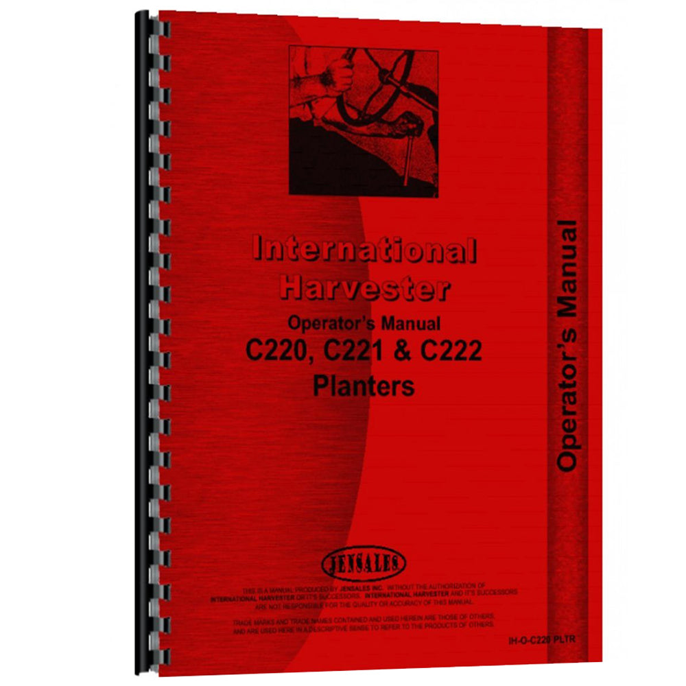 RAP73478 Operators Manual