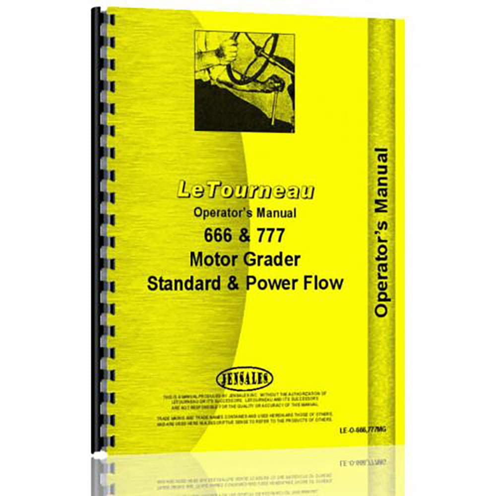 RAP78409 Operators Manual