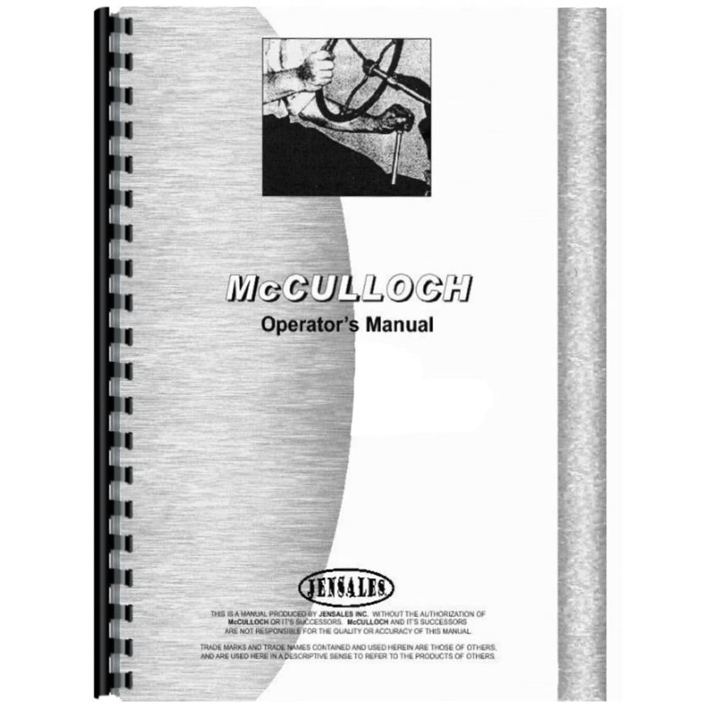 RAP78568 Operators Manual