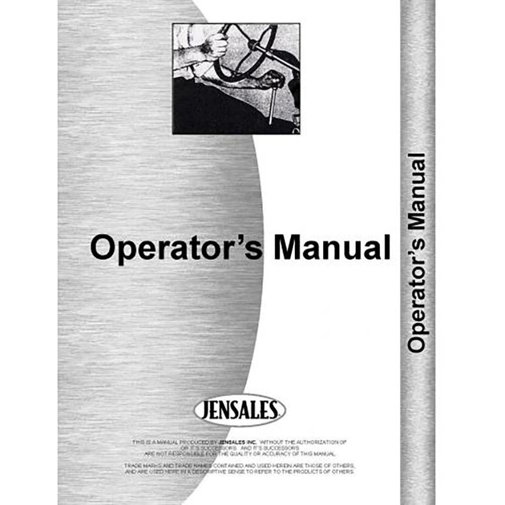 RAP78570 Operators Manual