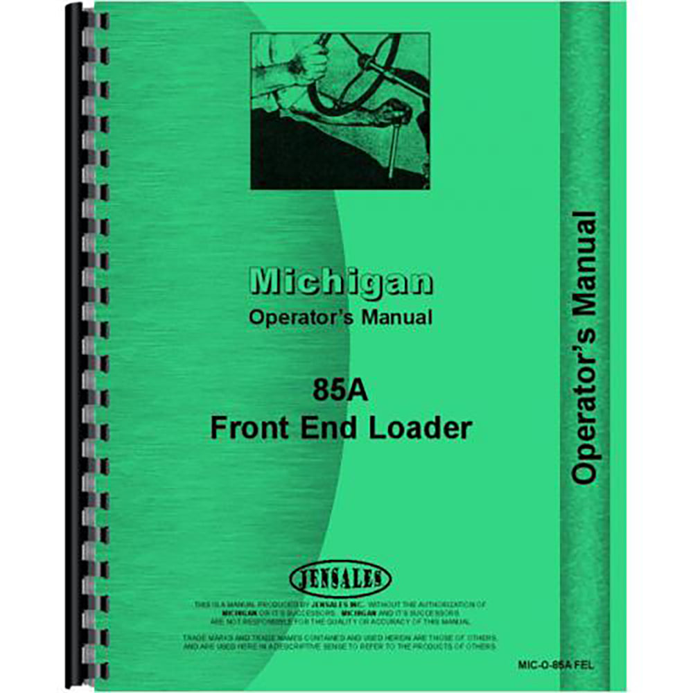 RAP79499 Operators Manual