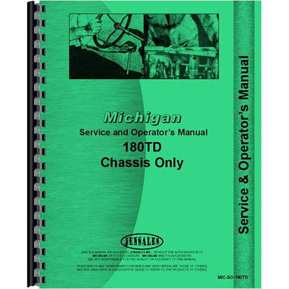 RAP79518 Service & Operators Manual