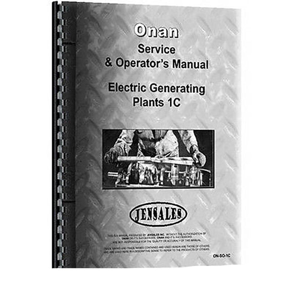 RAP81249 Service & Operators Manual