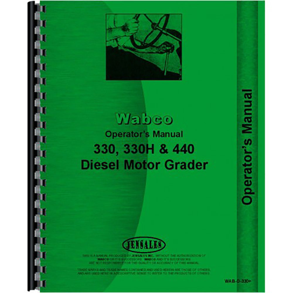 RAP82418 Operators Manual