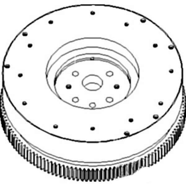 RE51448 Flywheel with Ring Gear