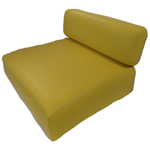 SEQ90-0237 Yellow Backrest & Seat Cushion Set - Reliable Aftermarket Parts, Inc