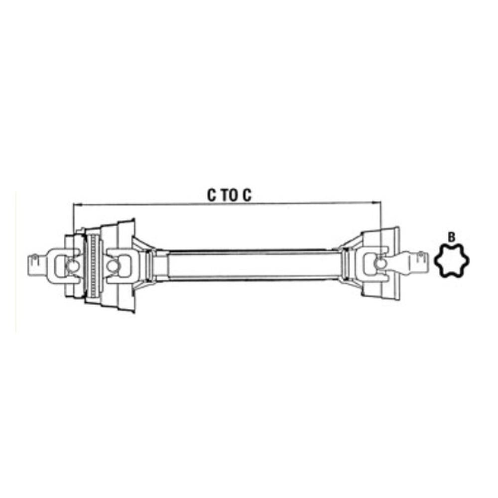W258012100202-A Complete Constant Velocity Driveline