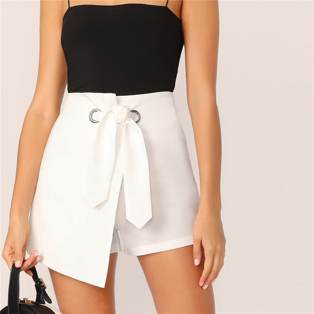 Elle Tie Up Shorts