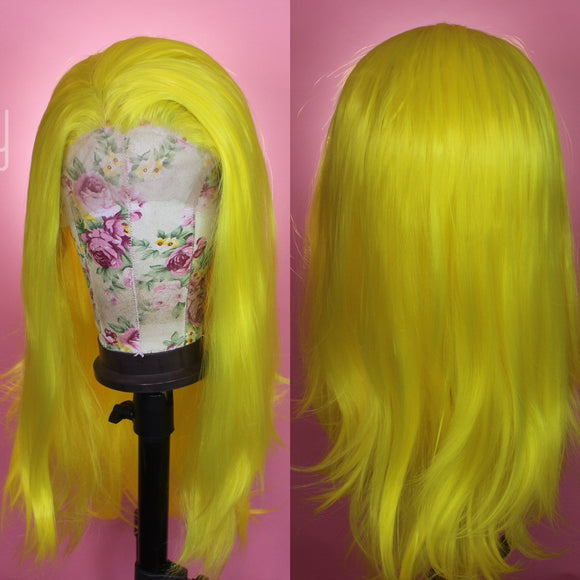 Electric Yellow, Drag Queen Wig