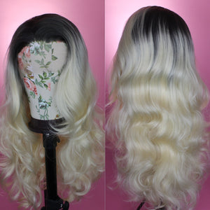 Blonde Rooted Ombre, Drag Queen Wig