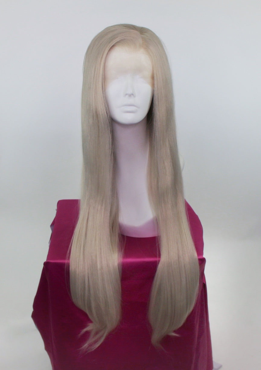 Anastasia Silver Blonde Lace Front Wig