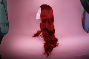 Faye Red Lace Front Wig