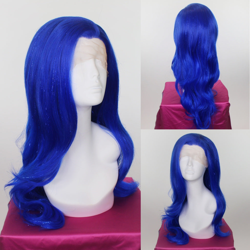 Sapphire Blue Tinsel Lace Front Wig