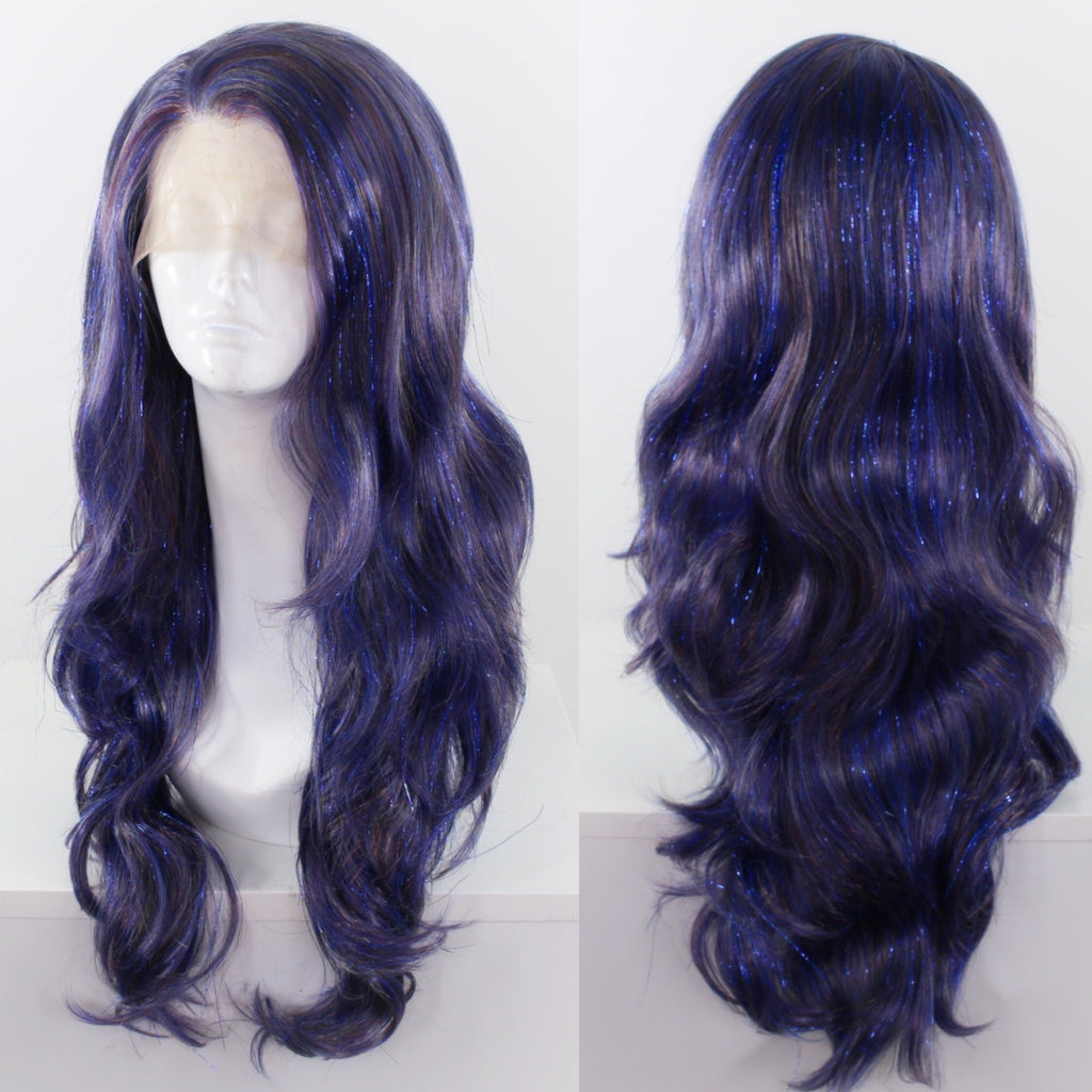 Topaz Blue Tinsel Lace Front Wig