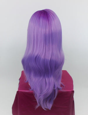 Charlotte Purple Rooted Violet Lace Front Wig
