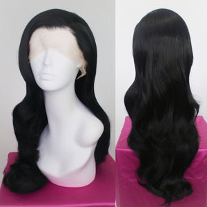 Evelyn Black Lace Front Wig