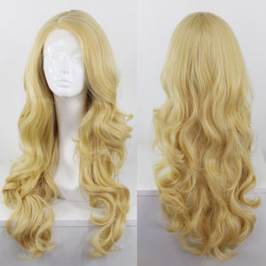 Bridgett Light Blonde Side Part Lace Front Wig