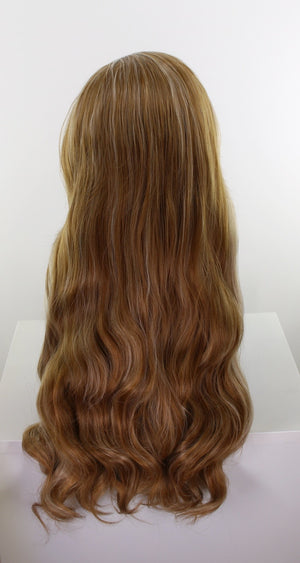 Evelyn Caramel Swirl Blonde Deluxe 250% Density Lace Front Wig