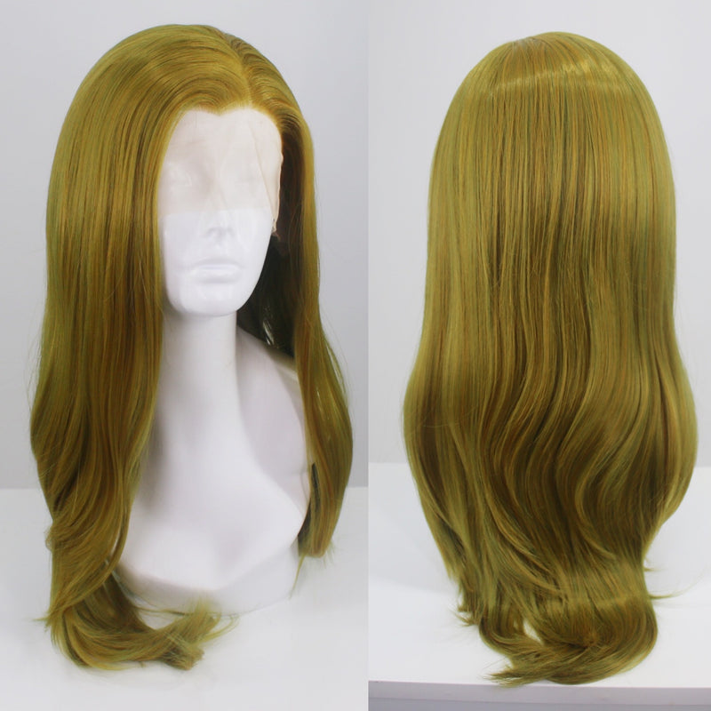 Charlotte Green Gold Lace Front Wig