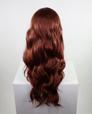 Demi Ginger Lace Front Wig