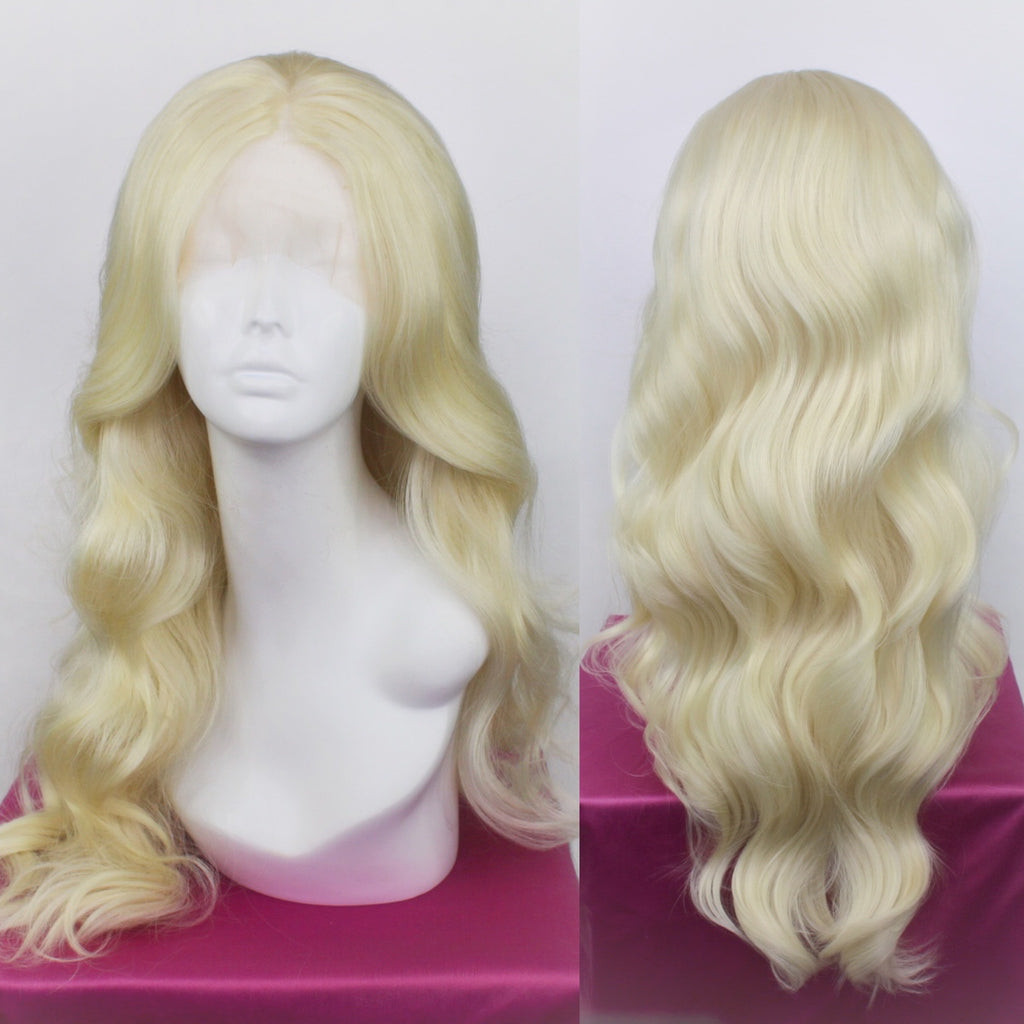 Demi Platinum Blonde Lace Front Wig