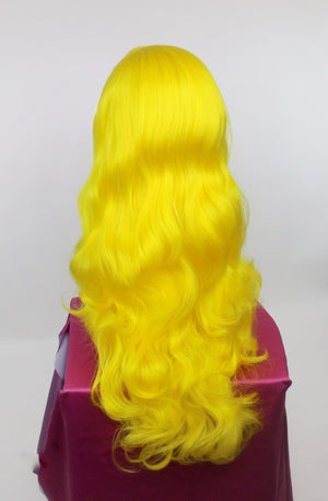 Bridgett Bright Yellow Lace Front Wig