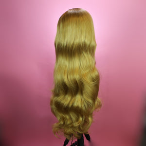 Stephanie Rooted Dirty Blonde Lace Front Wig