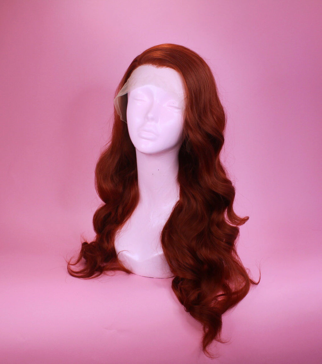 Faye Ginger Lace Front Wig
