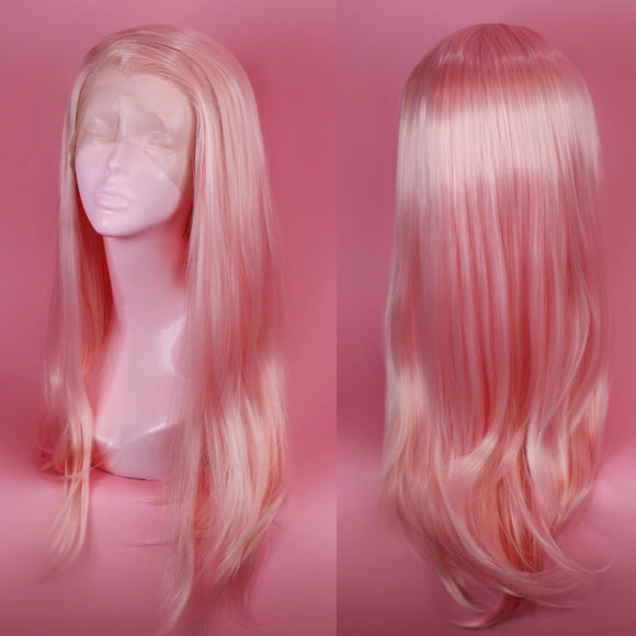 Charlotte Pastel Pink Lace Front Wig