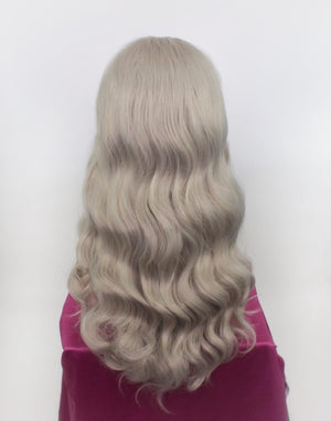 Faye Silver Blonde Lace Front Wig