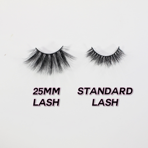 Heart 25mm Synthetic Lashes