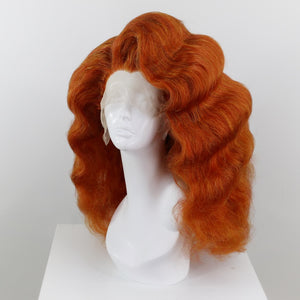 Bright Ginger Finger Waves