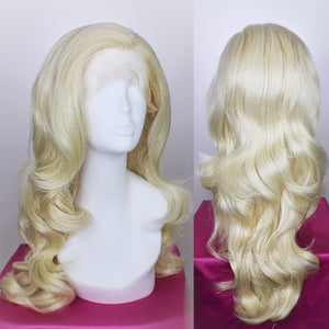 Platinum Blonde Tinsel Lace Front Wig