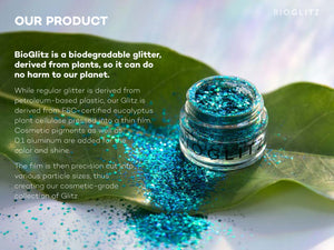 Ultramarine Biodegradable Glitter by BioGlitz