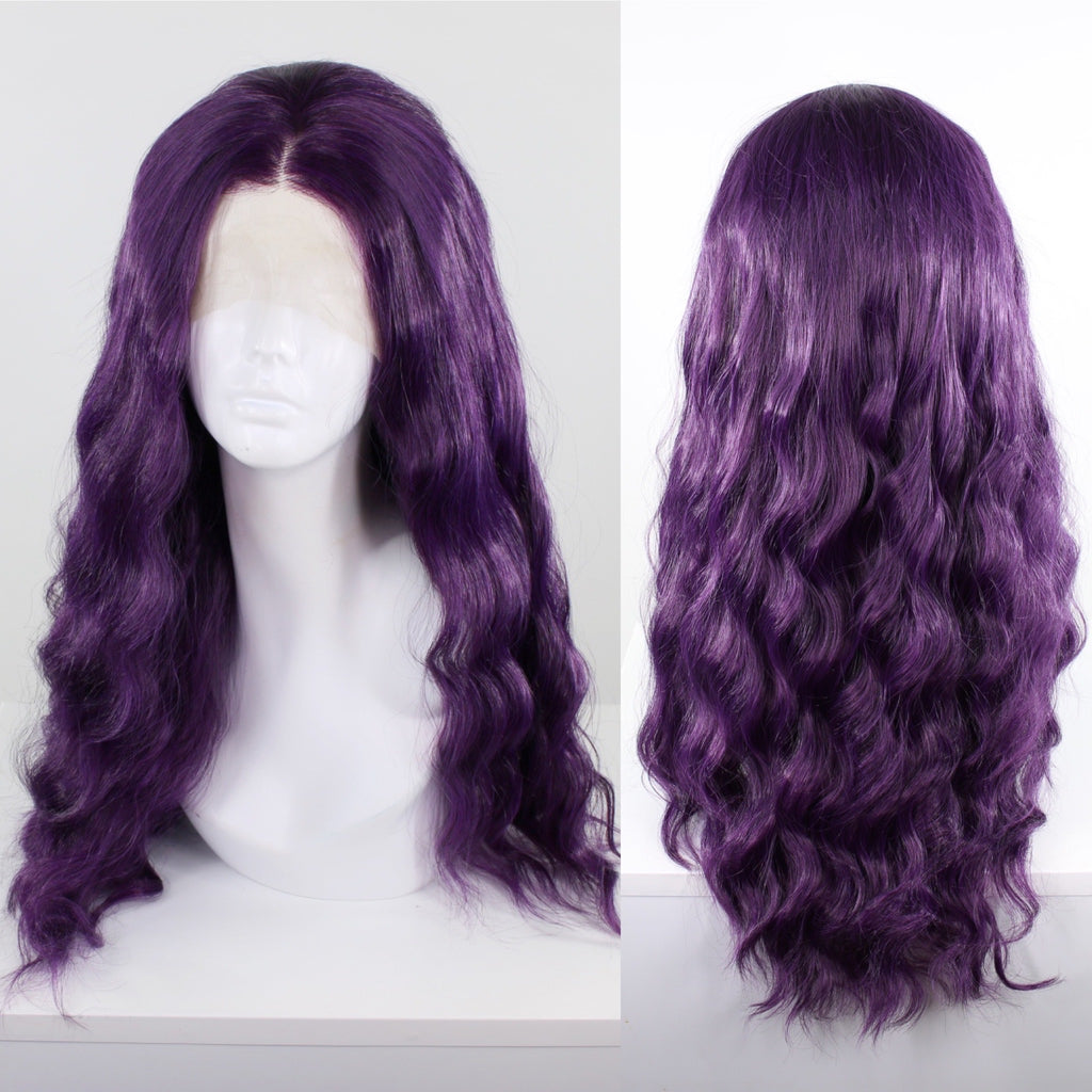 Jaclyn Dark Purple Lace Front Wig