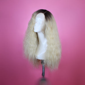Jaclyn Rooted Blonde Lace Front Wig