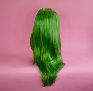 Charlotte Wicked Green Blonde Lace Front Wig
