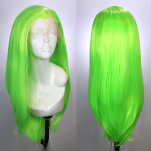 Charlotte Slime Green Lace Front Wig