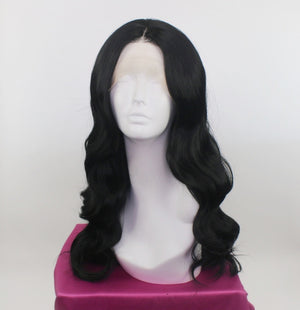 Demi Black Lace Front Wig