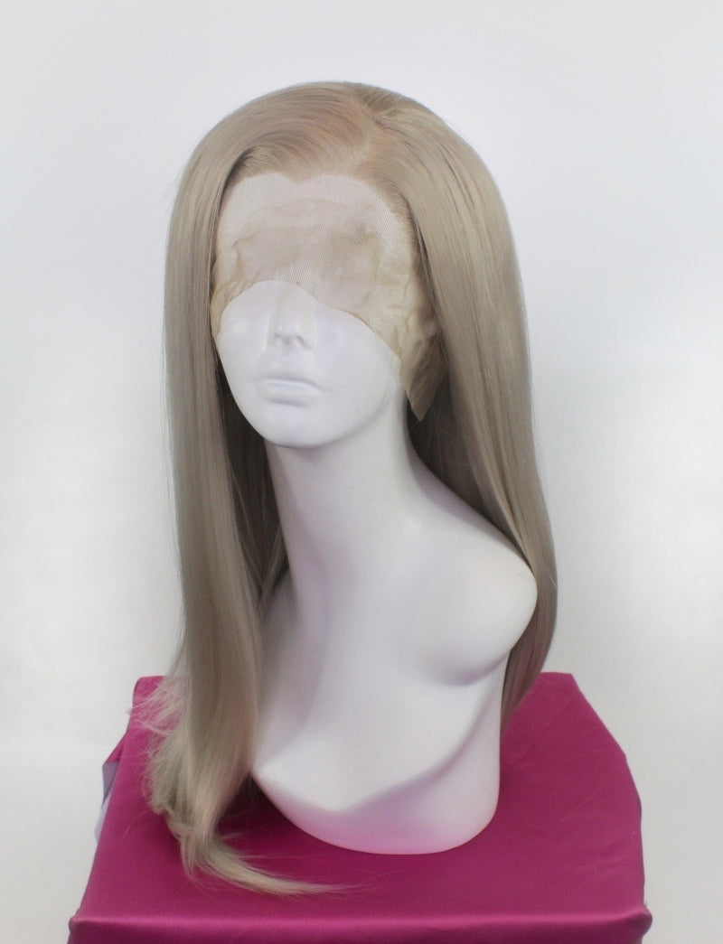 Charlotte Silver Blonde Lace Front Wig
