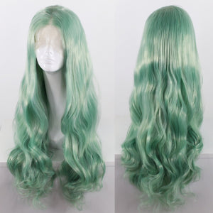 Gloria Mint Green Lace Front Wig