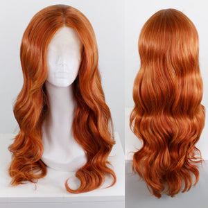 Demi Bright Ginger Lace Front Wig