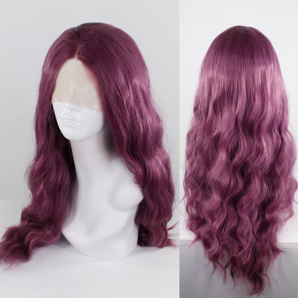 Jaclyn Plum Purple Lace Front Wig