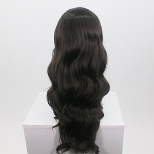 Demi Dark Brunette Lace Front Wig