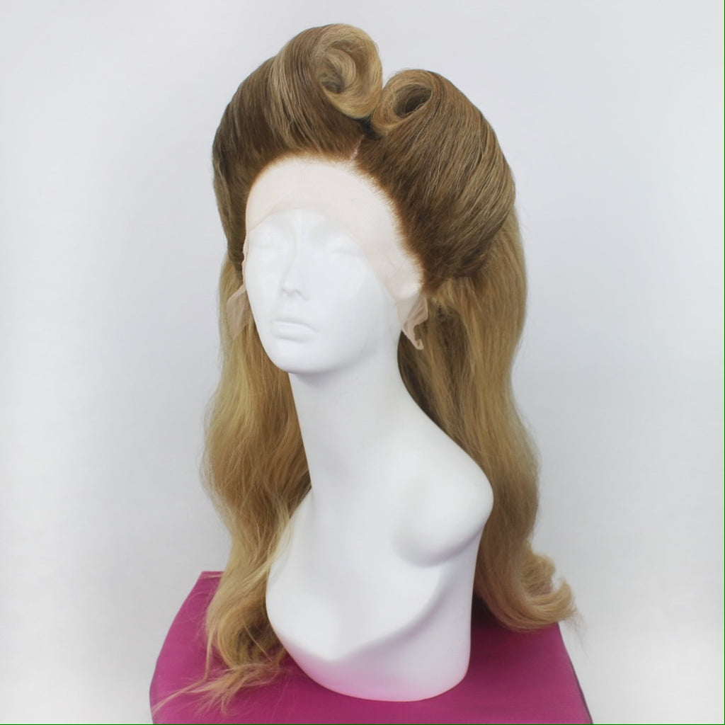 Beach Blonde Victory Rolls Custom Style