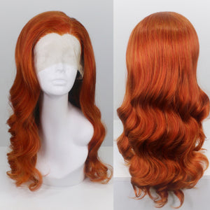 Bridgett Bright Ginger Lace Front Wig